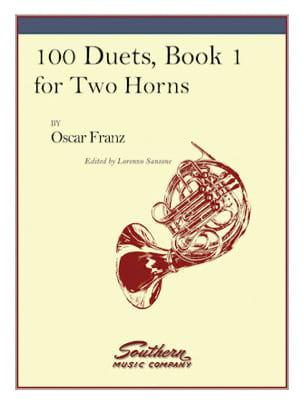 Oskar Franz - 100 Duets Volume 1 - Sheet Music - di-arezzo.com