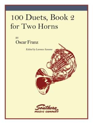 Oskar Franz - 100 Duets Volume 2 - Sheet Music - di-arezzo.com