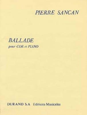 Pierre Sancan - balada - Partitura - di-arezzo.es