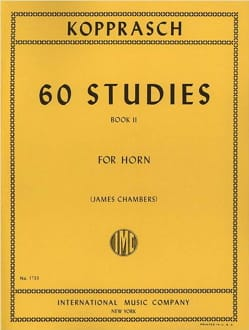 60 Studies Volume 2 Georg Kopprasch Partition Cor - laflutedepan
