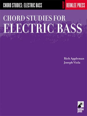 Appleman / Viola - Chord Studies For Electric Bass - Partition - di-arezzo.fr