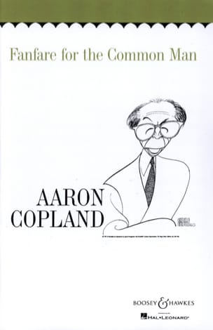 Aaron Copland - Fanfare for the common man - Partition - di-arezzo.fr