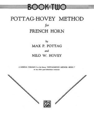 Pottag M.P. / Hovey N.W. - Method For French Horn Volume 2 - Partition - di-arezzo.fr