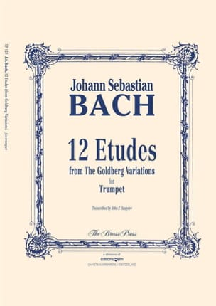 BACH - Twelve Studies - Sheet Music - di-arezzo.co.uk
