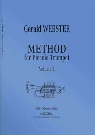 Gerald Webster - Methode für Piccolo Trompete Volume 1 - Noten - di-arezzo.de