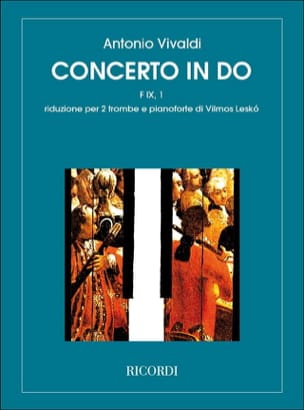 Antonio Vivaldi - Concerto In Do (F I X, 1) - Partition - di-arezzo.fr