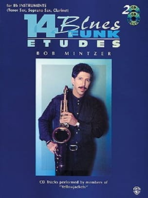 14 Blues & Funk Etudes Bob Mintzer Partition Saxophone - laflutedepan