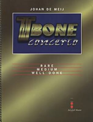 T-Bone Concerto Johan De Meij Partition Trombone - laflutedepan