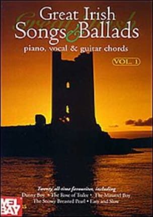 Great Irish Songs And Ballads Volume 1 - Partition - di-arezzo.fr