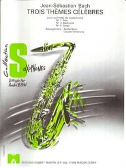 Johann Sebastian Bach - 3 Thèmes Célèbres - Partition - di-arezzo.fr