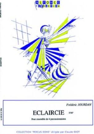 Frédéric Jourdan - Eclaircie - Partition - di-arezzo.fr