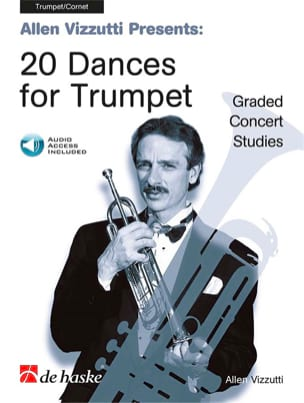 20 dances for trumpet Allen Vizzutti Partition laflutedepan