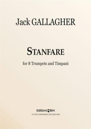 Stanfare Jack Gallagher Partition Trompette - laflutedepan