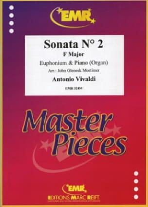 Antonio Vivaldi - Sonata N° 2 In Fa Major - Partition - di-arezzo.fr