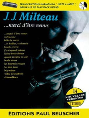 Jean Jacques Milteau - Thanks for coming - Sheet Music - di-arezzo.co.uk