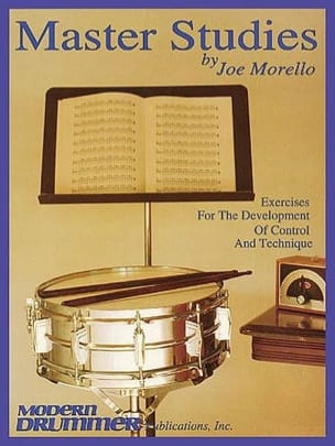 Joe Morello - Master Studies - Sheet Music - di-arezzo.com