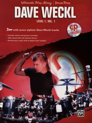 Dave Weckl - Ultimate Play-Along / Drum Trax Level 1 Volume 1 - Sheet Music - di-arezzo.co.uk