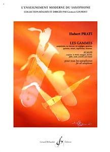Gammes Et Modes - Hubert Prati - Partition - laflutedepan.com