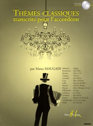 Manu Maugain - Transcribed Classical Themes for Accordion - Sheet Music - di-arezzo.com