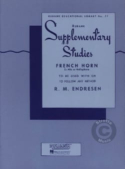 Supplementary Studies - R.M. Endresen - Partition - laflutedepan.com