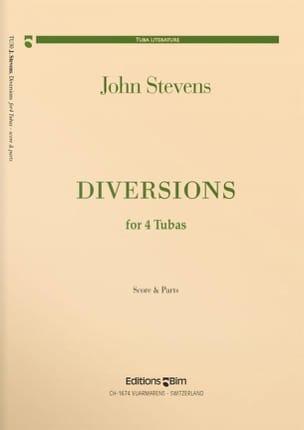 Diversions - Quatuor de Tubas John Stevens Partition laflutedepan