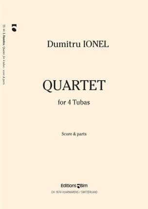Dumitru Ionel - Quartet - Partition - di-arezzo.fr