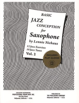 Basic Jazz Conception For Saxophone - Volume 2 laflutedepan