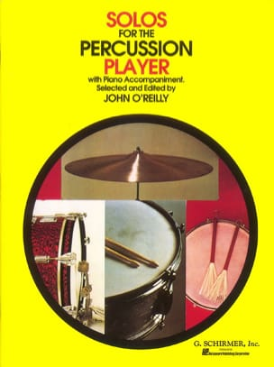 - Solos For The Percussion Player - Sheet Music - di-arezzo.co.uk