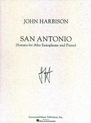 John Harbison - San Antonio - Sheet Music - di-arezzo.co.uk