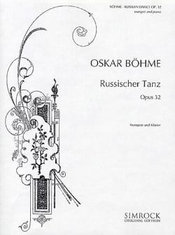 Oskar Böhme - Russischer Tanz Opus 32 - Sheet Music - di-arezzo.co.uk