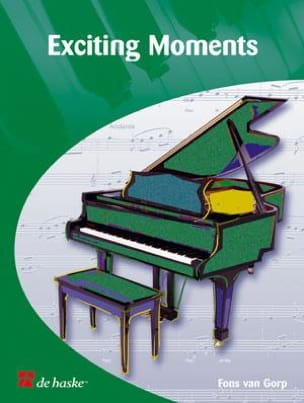 Gorp Fons Van - Exciting Moments - 10 Pieces Originales de Concert Pour Piano - Partition - di-arezzo.fr