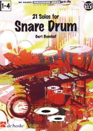 Gert Bomhof - 21 Solos for Snare Drum - Sheet Music - di-arezzo.com