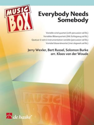 The Blues Brothers, Solomon Burke, etc. - Everybody needs somebody - music box - Sheet Music - di-arezzo.co.uk