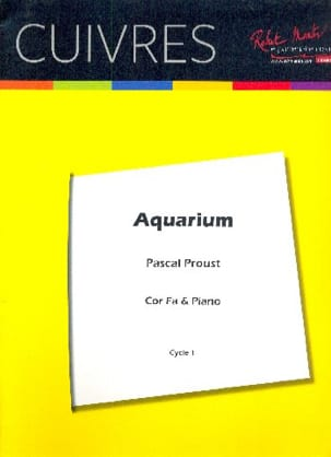 Pascal Proust - Aquarium - Sheet Music - di-arezzo.co.uk