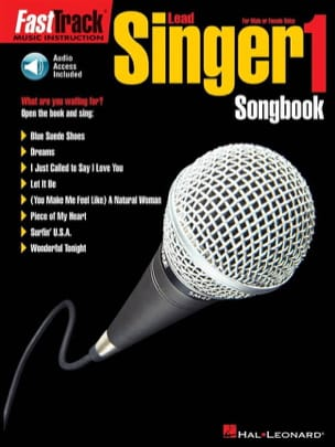 Fast Track Lead Singer 1 - Songbook - Partition - di-arezzo.co.uk