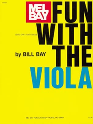 Fun With The Viola Bill Bay Partition Alto - laflutedepan
