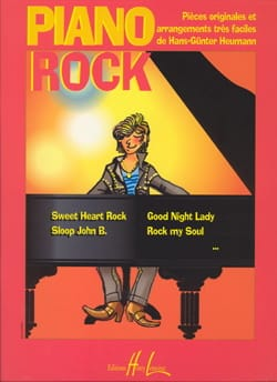 Hans-Günter Heumann - Rock Piano - Original Pieces And Arrangements Very Easy - Partition - di-arezzo.co.uk