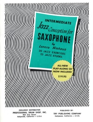 Intermediate Jazz Conception For Saxophone Lennie Niehaus laflutedepan