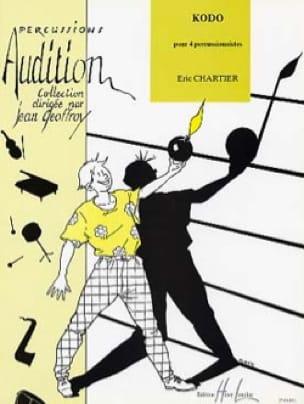 Kodo Eric Chartier Partition Ensemble de percussions - laflutedepan