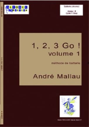 André Mallau - 1, 2, 3, Go ! Volume 1 - Partitura - di-arezzo.it