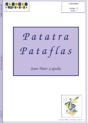J.M. Lajudie - Patatra Pataflas - Partition - di-arezzo.fr