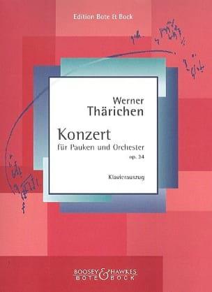 Werner Thärichen - Konzert Für Pauken Und Orchestra Opus 34 - Sheet Music - di-arezzo.co.uk