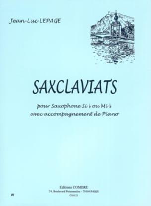 Saxclaviats - Jean-Luc Lepage - Partition - laflutedepan.com