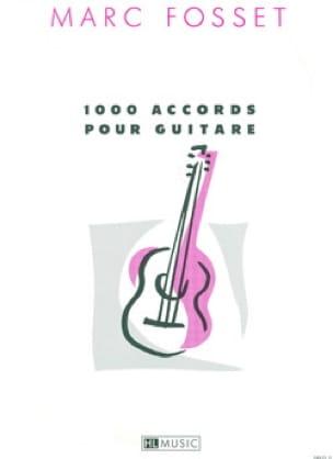 Marc Fosset - 1000 Chords for Guitar - Sheet Music - di-arezzo.co.uk