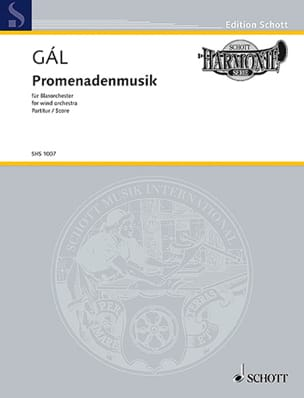 Hans Gal - Promenadenmusik - Conducteur - Partition - di-arezzo.fr