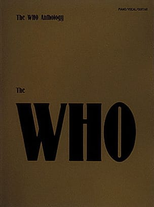 The Who Anthology - The Who - Partition - laflutedepan.com