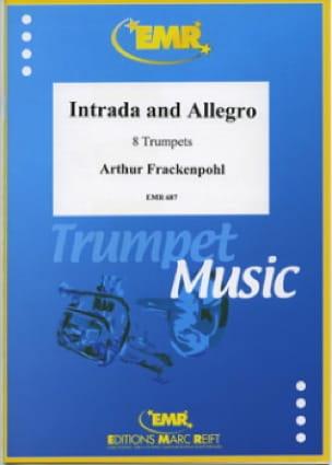 Intrada And Allegro Arthur Frackenpohl Partition laflutedepan