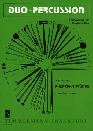 Karl Bartos - Fünfzehn Etüden - Sheet Music - di-arezzo.co.uk