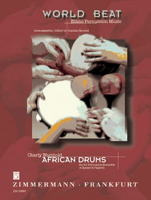 African Drums - Charly Wambold - Partition - laflutedepan.com