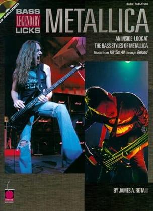 Metallica - Bass Legendary Licks - Sheet Music - di-arezzo.com